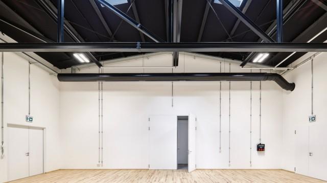 Theater Schwere Reiter: Als Spiegelbild funktioniert der Spielraum. Er hat dieselben Proportionen wie der alte.