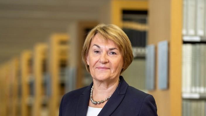 Pressefoto Ingrid Schmidt, Präsidentin des Bundesarbeitsgerichts  © BAG