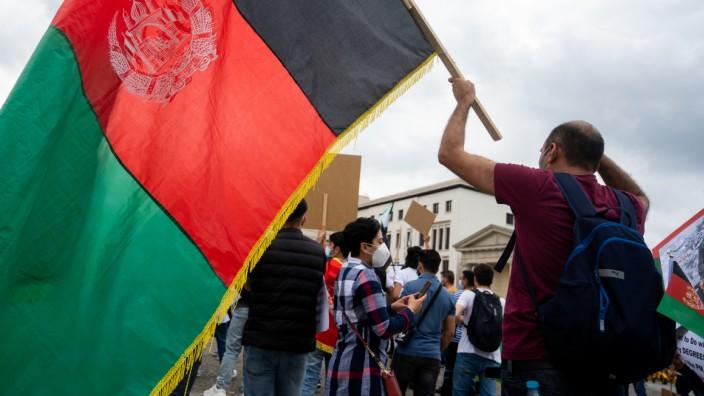 Demonstration gegen die Taliban-Regierung in Afghanistan