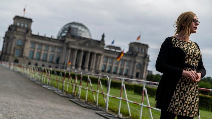 Bundestagswahl: Probelauf in Berlin: Als eine der ersten transgeschlechtlichen Frauen will Tessa Ganserer in den Bundestag einziehen. Ihre Chancen stehen gut, sie steht auf Listenplatz 13. Aber am liebsten hätte sie das Direktmandat.