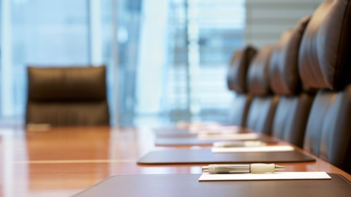 Empty conference room before meeting,property released PUBLICATIONxINxGERxSUIxAUTxONLY 03B66794
