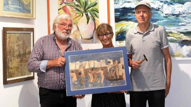 """Lange Nacht: Josef Baur, Gudrun Ullrich und Josef Lochner (von links nach rechts) haben zusammen mit ihrem Verein die """"Lange Nacht"""" am Freitagabend organisiert."""