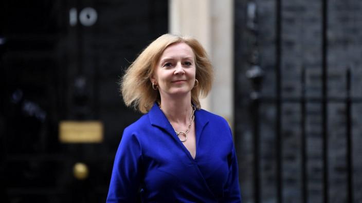 Populär unter den Tories: Liz Truss ist nun neue britische Außenministerin.