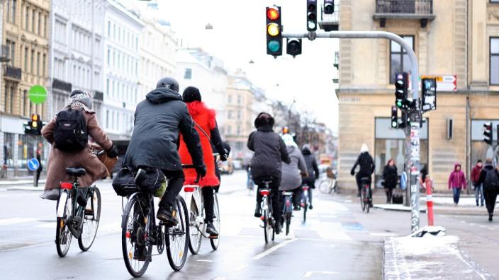 Untersuchung Greenpeace: Radfahrer in Kopenhagen