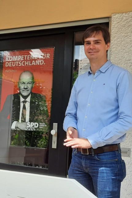 Bundestagswahl im Landkreis Freising: Der SPD-Bundestagskandidat Andreas Mehltretter geht zuversichtlich in die Bundestagswahl, nicht nur, was das Abschneiden seiner Partei betrifft. Er rechnet sich auch Chancen aus, selbst in das Parlament einzuziehen.