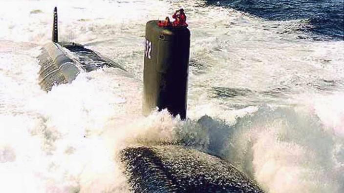 """Amerikanisches Atom-U-Boot USS """"Greeneville"""""""