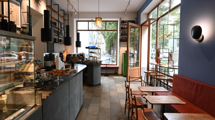 Café Morso: Frühstückscafé Morso in der Elisabethstrasse in Schwabing.