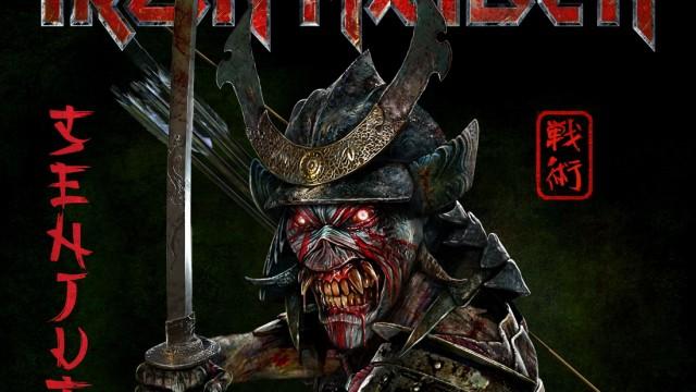 """Album """"Senjutsu"""": Auf dem Cover des neuen Albums mit dem ratlos machenden Titel """"Senjutsu"""" grinst das Maskottchen-Monster Eddie als blutrünstiger Samurai."""