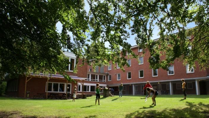 Schule in der Pandemie: In Flensburg ist die Jugendherberge im September gut gefüllt. Bundesweit betrachtet liegt die Auslastung bei den Klassenfahrten aber in diesem Jahr nur bei 40 bis 45 Prozent im Vergleich zu 2019.