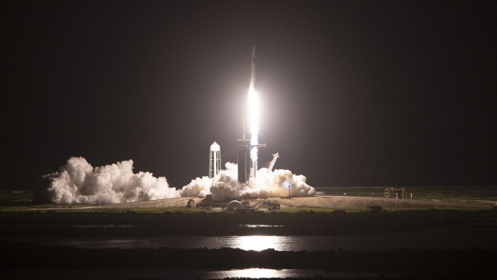 Space X Launches First Civilian Mission To Space