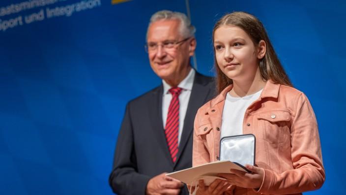 Verleihung der bayerischen Courage-Medaille