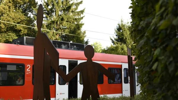 Denkmal für Dominik Brunner am S-Bahnhof Solln, 2019
