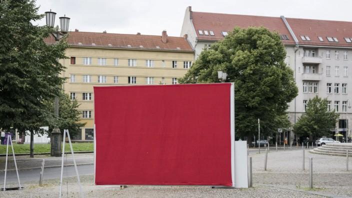 Bundestagswahl 2021: Plakatkampagne der Partei Die Linke Deutschland, Berlin: Janine Wissler und Dietmar Bartsch, gemein