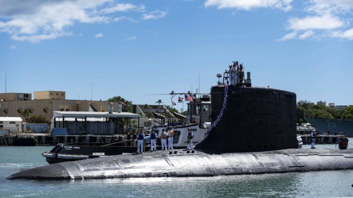 Sicherheitspolitik: Australien investiert in US-amerikanische nuklearbetriebene U-Boote wie dieses. Frankreich hat das Nachsehen.