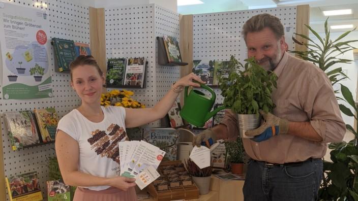 Erste Saatgutbibliothek im Landkreis - Gemeindebücherei bringt Gröbenzell zum Blühen