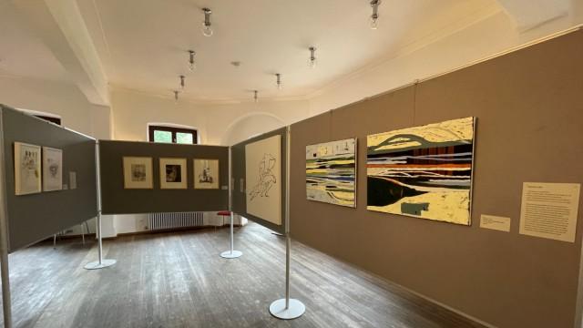 """Herrsching: Martin Piehlers Atelier """"Gestalt im Raum"""" in der Rieder Straße 47 kann besucht werden. Im Obergeschoss des Kurparkschlösschens sind Werke von 27 weiteren Künstlern ausgestellt."""