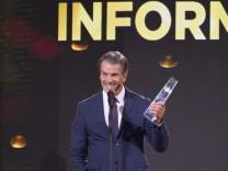 TV-Gala in Köln: Lanz gewinnt Fernsehpreis