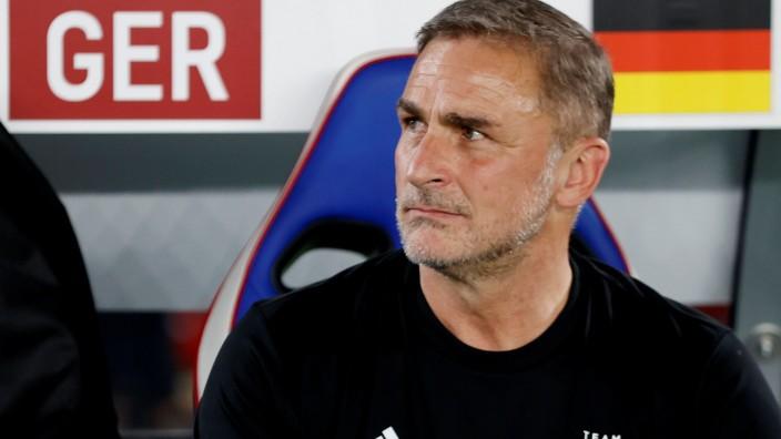 U21-Trainer Stefan Kuntz bei den Olympischen Spielen 2021