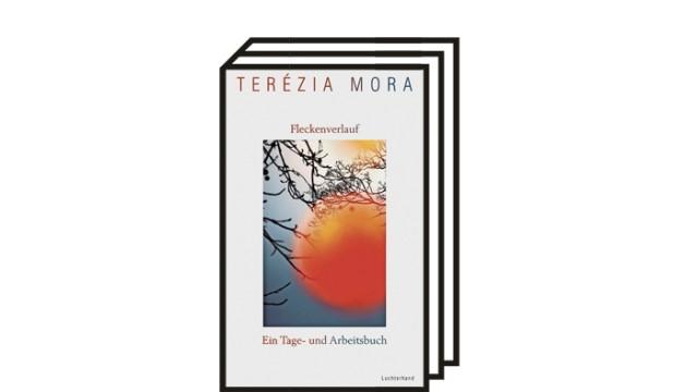 """Terézia Moras Journal """"Fleckenverlauf"""": Terézia Mora: Fleckenverlauf. Ein Tage- und Arbeitsbuch. Luchterhand Literaturverlag, München 2021. 286 Seiten, 22 Euro."""