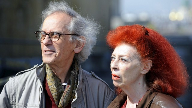 Künstlerin Jeanne-Claude tot