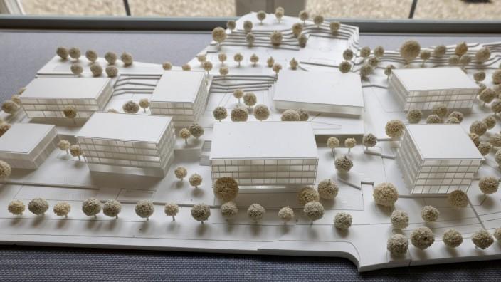 Geplanter Schulcampus in Freising: Der Jury hat der Siegerentwurf für den neuen Berufsschulcampus an der Wippenhauser Straße in Freising ausnehmend gut gefallen. Zumindest ein Anwohner ist mit den geplanten Vorhaben nicht zufrieden.