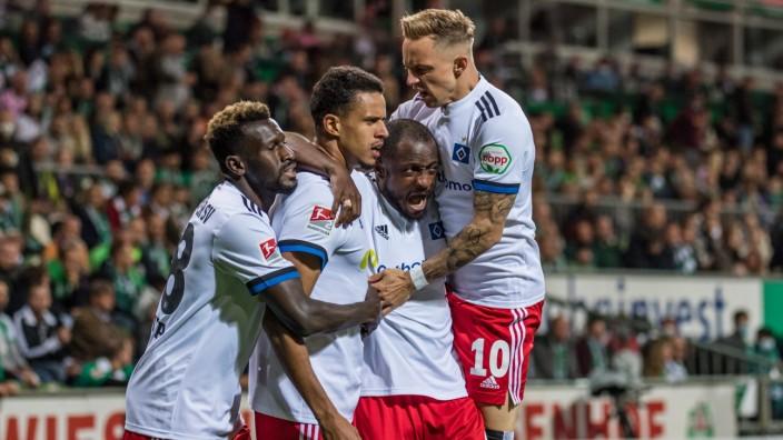 Jubel 0:1, Bakery Jatta ( 18, Hamburger SV), Robert Glatzel ( 9, Hamburger SV), David Kinsombi ( 6, Hamburger SV), Sonn