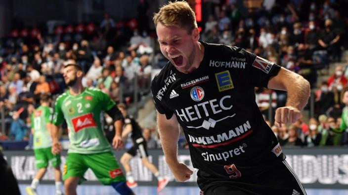 18.09.2021 - Handball - 1. Bundesliga LIQUI MOLY HBL - Saison 2021 2022 - 03. Spieltag: HC Erlangen Metropolregion Nürn