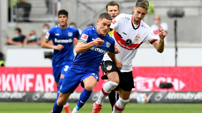 Bundesliga: Florian Wirtz spielt derzeit in großer Form auf bei Bayer Leverkusen.