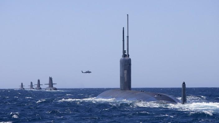 Gemeinsame U-Boot-Übung von USA und Australien