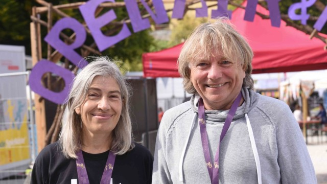 Dachau: Sabine Seeholzer und Frank Donath sind mit dem Festival zufrieden.