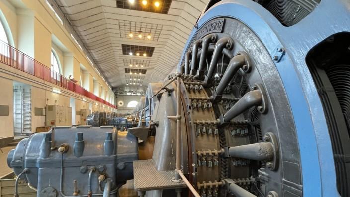 Kraftwerk-Modernisierung: Die alten Turbinen werden bald ganz still stehen.
