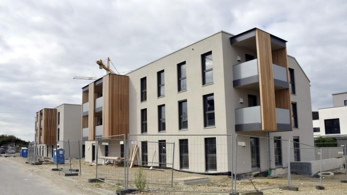 Baugenossenschaft Erding: Das aktuellste Bauvorhaben ist eine Anlage mit 16 Wohnungen im Baugebiet am Thermengarten, die bis Jahresende fertiggestellt sein wird.