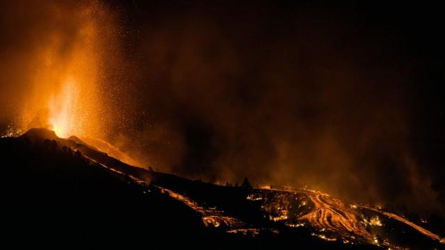 Kanaren: Die Lava fließt im Strömen über die Insel.