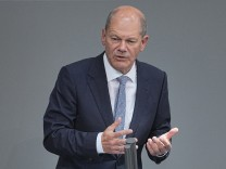 Nach Durchsuchungen im Finanzministerium: Scholz sagt vor Finanzausschuss aus