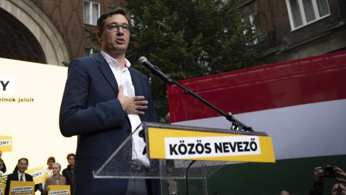 Ungarn: Gilt als Favorit im Lager der Oppositionellen: Budapests Bürgermeister Gergely Karácsony.