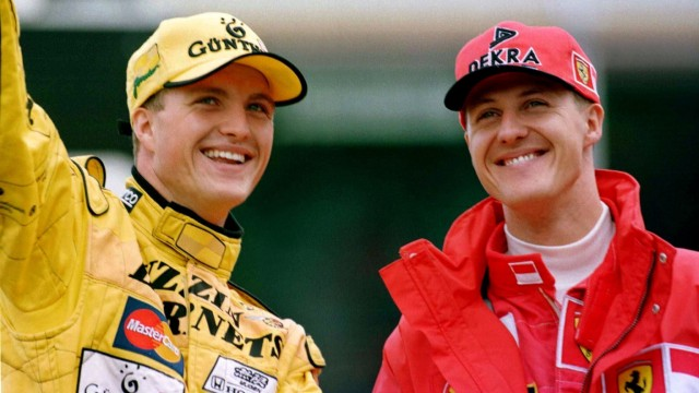 Formel 1  - die Schumacher-Brüder