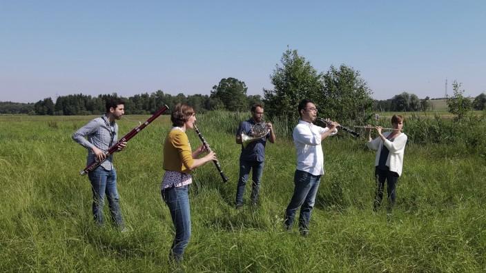 Herrschinger Konzerte: Fröhliches Wohlfühlkonzert: Das Münchner Holzbläserquintett ist zum Auftakt der neuen Saison im Haus der bayerischen Landwirtschaft zu hören.