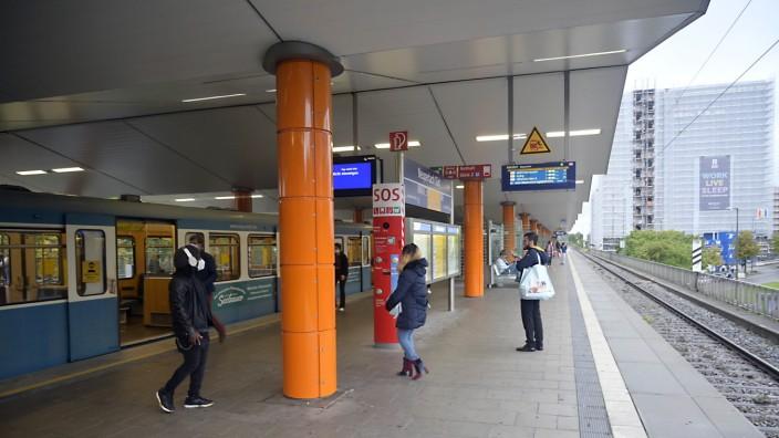 Neuperlach: Schneller umsteigen können sollen Fahrgäste in Neuperlach, wenn U- und S-Bahn am selben Bahnsteig halten.