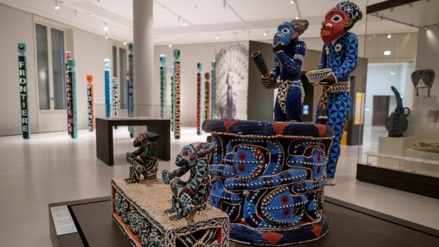 Nach vier Jahren im Depot und Umzug in das Humboldt Forum oeffnen das Ethnologische Museum und das Museum fuer Asiatisc