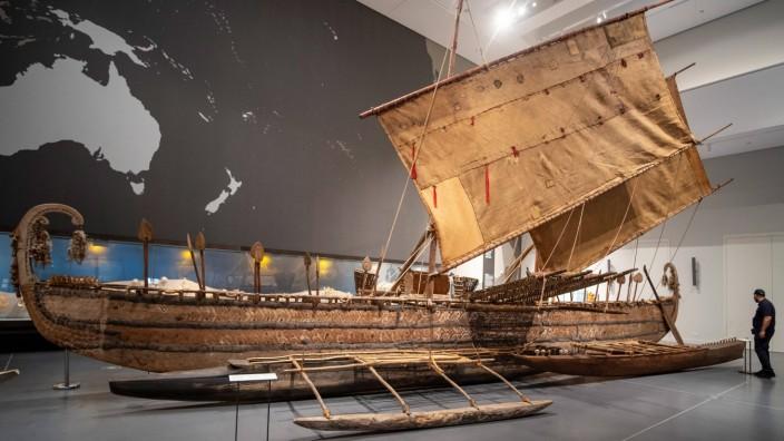 Nach vier Jahren im Depot und Umzug in das Humboldt Forum oeffnen das Ethnologische Museum und das Museum fuer Asiatisch