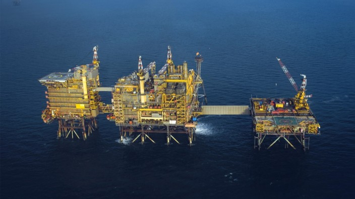 Fossile Brennstoffe: Die Firma Spirit Energy fördert Gas in der Nordsee.