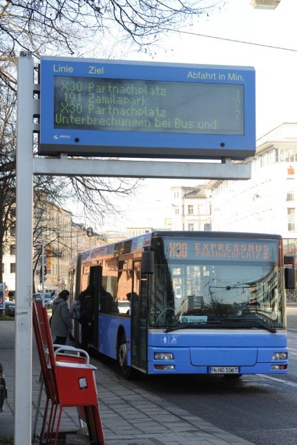 Expressbus der MVG in München, 2014