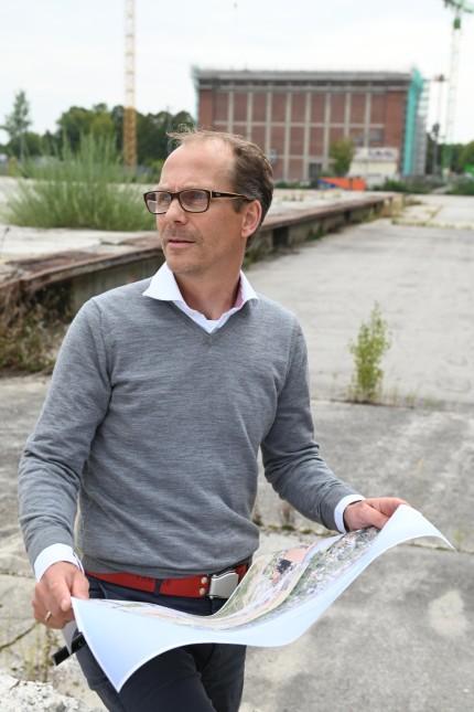 Aubing: Projektleiter für Aurelis ist Martin Adolph.