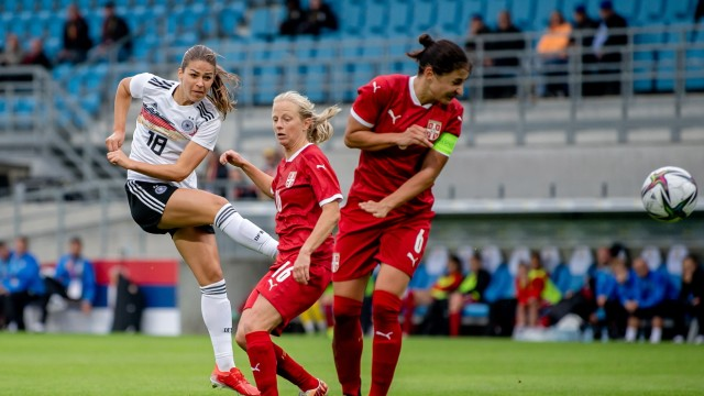 Germany v Serbia: Group H - FIFA Women's World Cup 2023 Qualifier