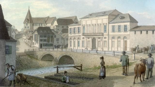 Historische Aufnahmen des Casinos in Basel