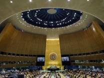 UN-Vollversammlung: Eine Welt des Ihr und des Wir