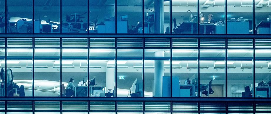 Bürogebäude in Berlin