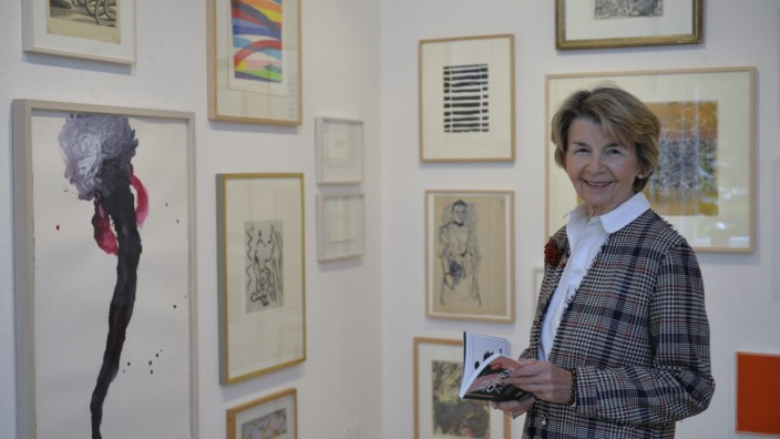 Galeristin Margret Biedermann, 2021