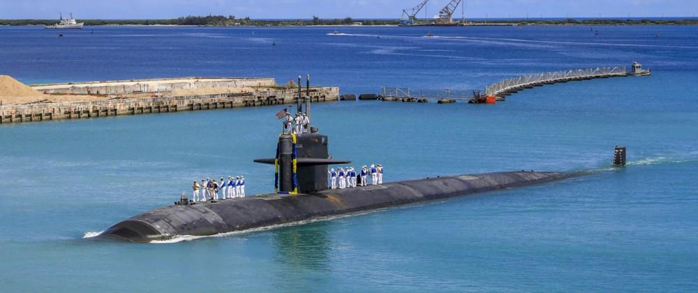 USS Oklahoma City Returns to Guam