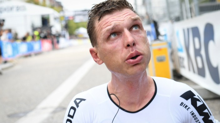 Sport Bilder des Tages German Tony Martin of Team Jumbo-Visma pictured after the men elite time trial race, 43,3 km from